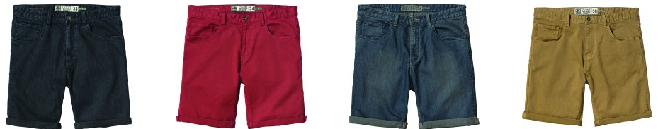 new products - globe denim walkshort