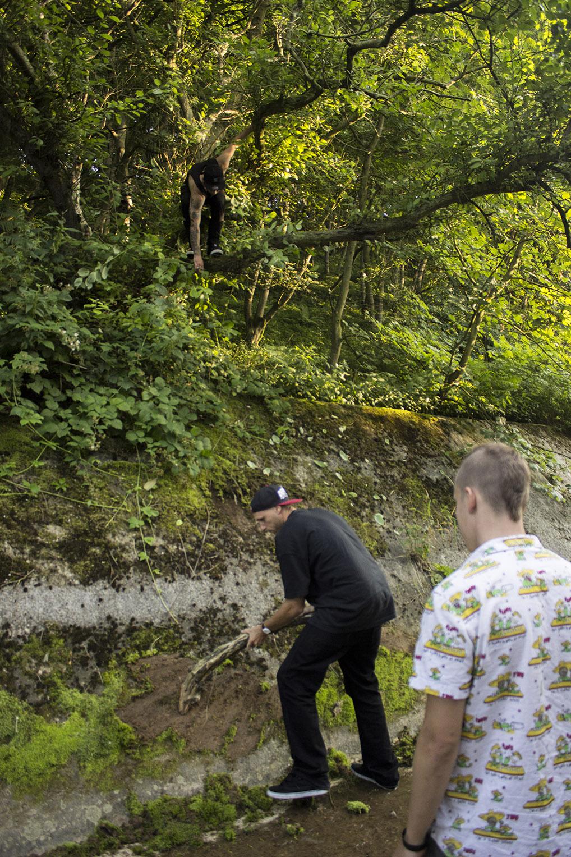 Death Skateboards visit Horden