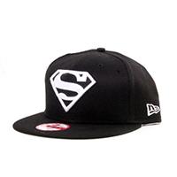 new-era-basic-superman-snapback-cap-black-white
