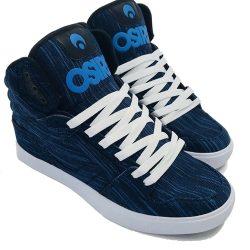 Osiris Clone Shoes - Blue / Knit